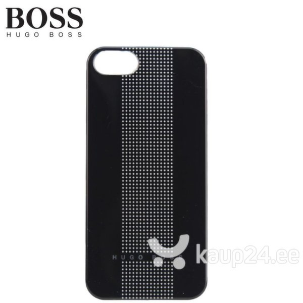 Kaitseümbris Hugo Boss Dots Super Thin sobib Apple iPhone 5/5S/5SE, must цена и информация | Mobiili ümbrised, kaaned | kaup24.ee