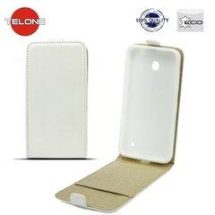 Kaitseümbris Telone Shine Pocket Slim Flip sobib Huawei P9 Lite, valge