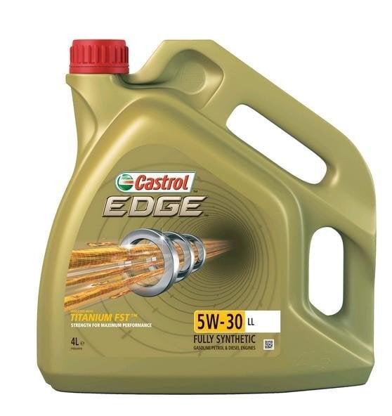 Mootoriõli Castrol Edge Titanium FST LL 5W30, 4L цена и информация | Mootoriõlid | kaup24.ee