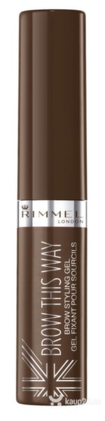 Kulmugeel Rimmel Brow This Way 5 ml цена и информация | Silmadele | kaup24.ee