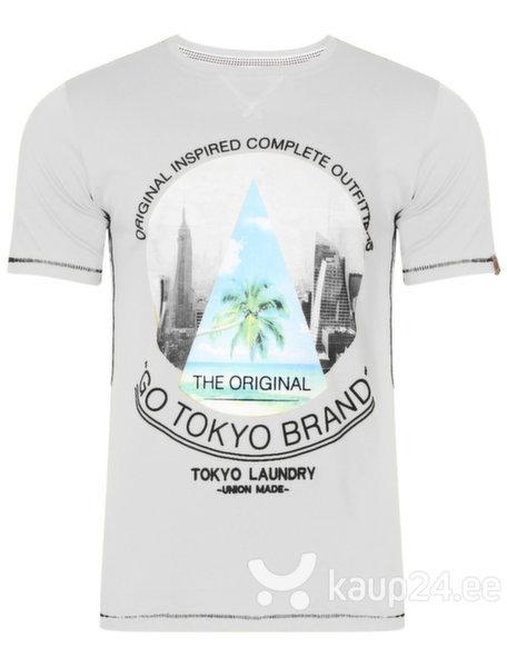 Meeste T-särk Tokyo Laundry, valge цена и информация | Meeste t-särgid ja pluusid | kaup24.ee