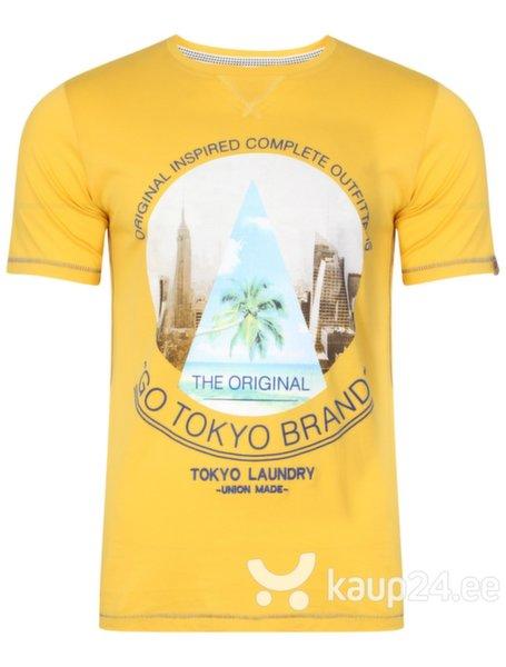 Meeste T-särk Tokyo Laundry, kollane