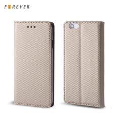 Kaitseümbris Forever Smart Magnetic Fix Book sobib Samsung Galaxy XCover 3 (G388), kuldne
