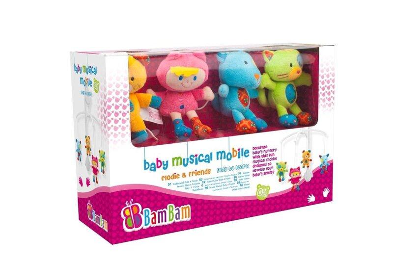 Muusikaline karussell Bam Bam Melodie, 297668 цена и информация | Imikute mänguasjad | kaup24.ee