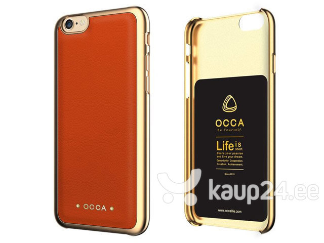 Kaitseümbris OCCA sobib Apple iPhone 6/6S, oranž