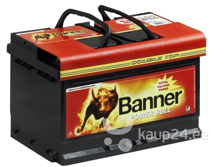 Aku Banner Power Bull P8014 цена и информация | Akud | kaup24.ee