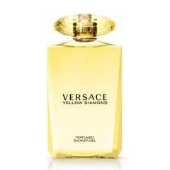 Dušigeel Versace Yellow Diamond naistele 200 ml