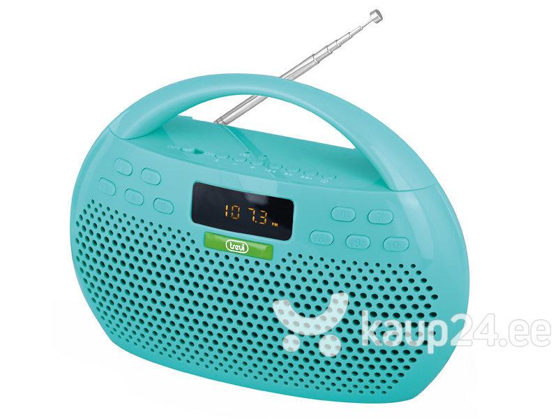 Digitaalne raadio Trevi KB308, microSD/USB, sinine цена и информация | Raadiod ja äratuskellad | kaup24.ee