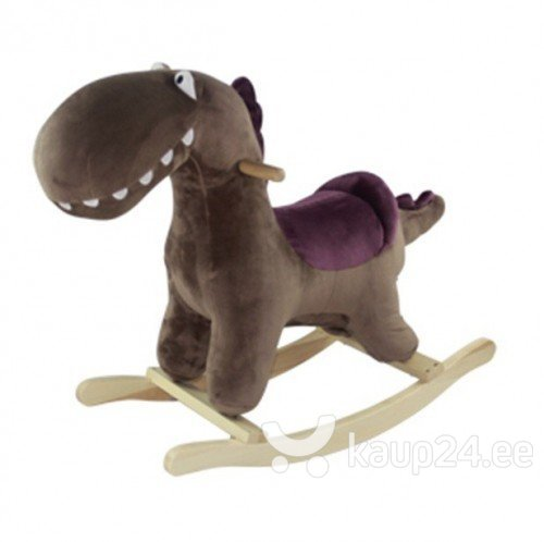 Kiikuv dinosaurus koos helidega Gerardo's toys Little Rocker 39540 цена и информация | Imikute mänguasjad | kaup24.ee