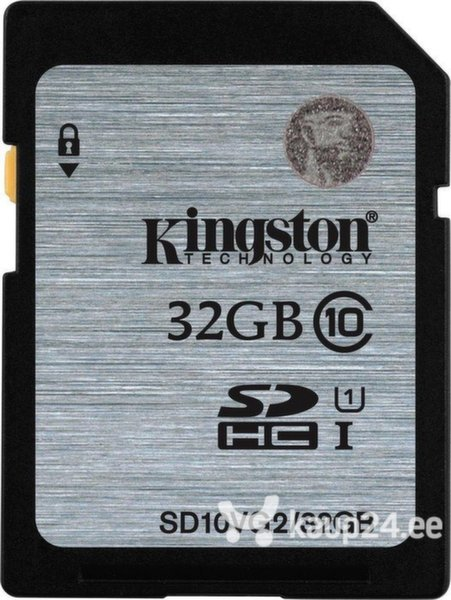 Mälukaart Kingston 32GB SDHC Class 10 UHS-I GenII цена и информация | Mälukaardid | kaup24.ee