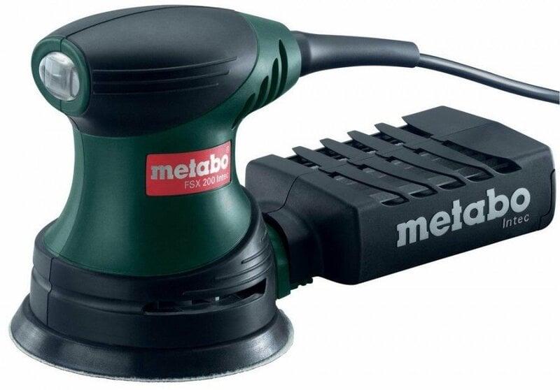 Ekstsentriklihvija Metabo FSX 200 INTEC цена и информация | Lihvmasinad ja ketaslõikurid | kaup24.ee