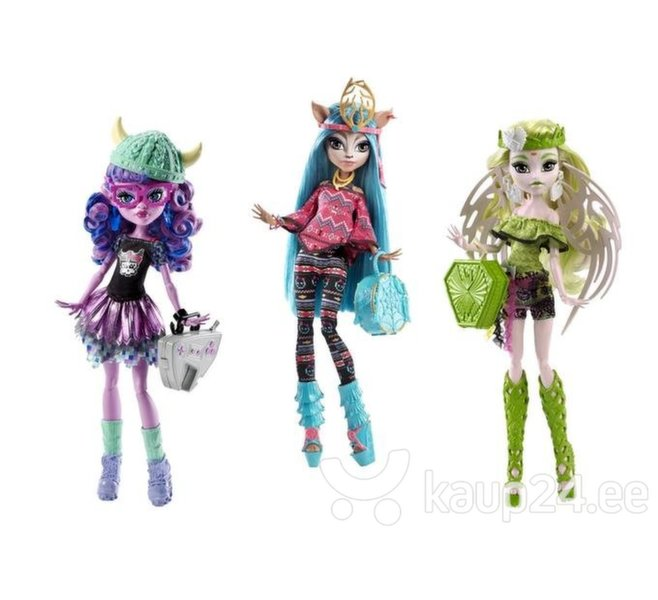 Nukk Monster High Uus semester, DJR52 цена и информация | Tüdrukute mänguasjad | kaup24.ee