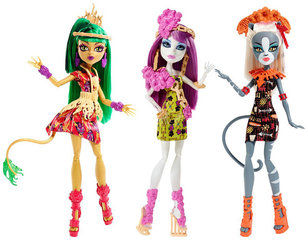 Nukk Monster High Pühad troopikas, DKX94