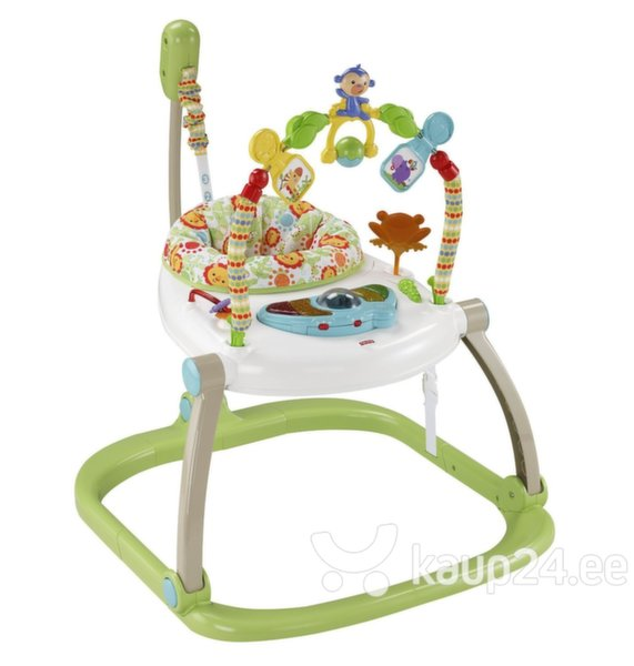 Hüppetool Fisher Price Rainforest, CHN38 цена и информация | Lamamistoolid | kaup24.ee