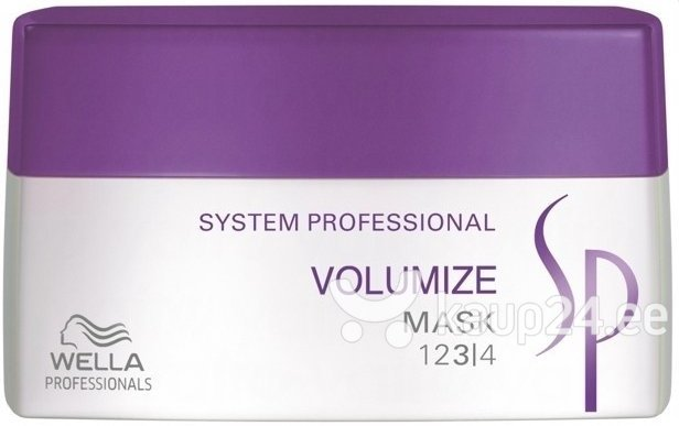 Juuksemask Wella SP Volumize, 200 ml цена и информация | Maskid, õlid, seerumid | kaup24.ee
