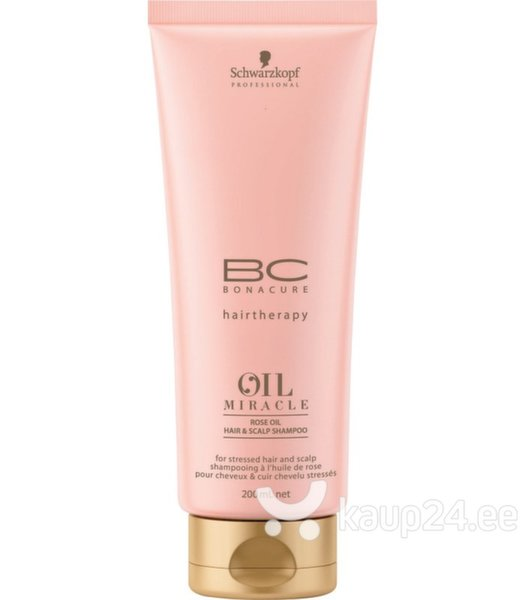 Šampoon Schwarzkopf Professional BC Bonacure OIl MIracle Rose Oil, 200 ml цена и информация | Šampoonid | kaup24.ee