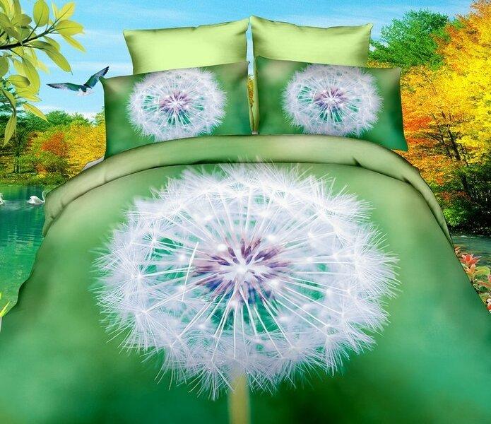 3D Kомплект постельного белья 3 части цена и информация | Voodipesukomplektid | kaup24.ee