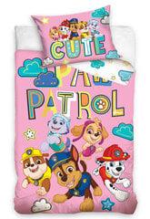 Laste voodipesukomplekt Paw Patrol 100x135, 2-osaline hind ja info | Voodipesu lastele ja imikutele | kaup24.ee