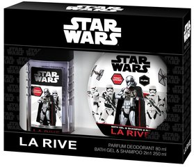 Komplekt La Rive Star Wars First Order: EDT poistele 50 ml + dušigeel-šampoon 250 ml