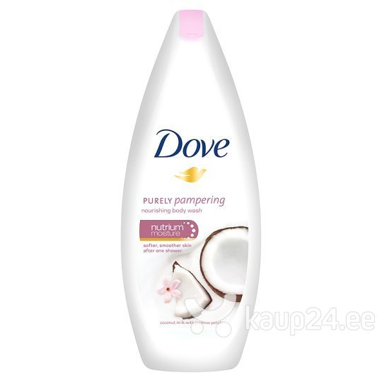 Dušigeel Dove Coconut Milk & Jasmine Petals 250 ml цена и информация | Dušigeelid, seebid | kaup24.ee