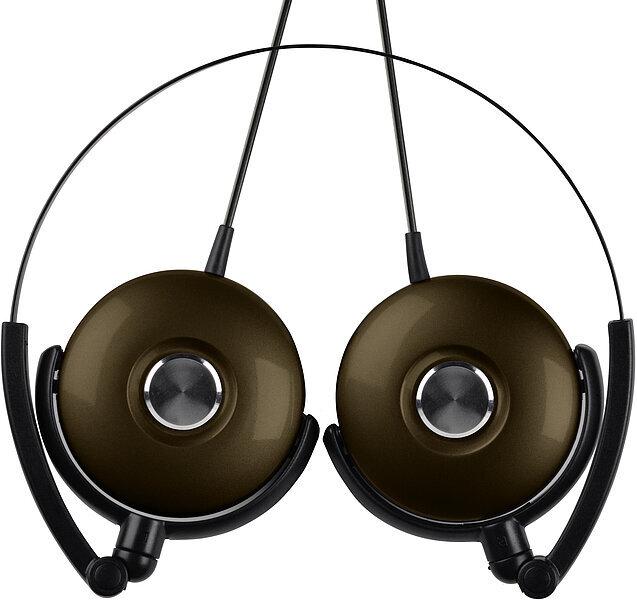 Первоклассная мультимедийная звуковая и ясная передача звуков. Кроме того, стильный внешний вид и компактность.