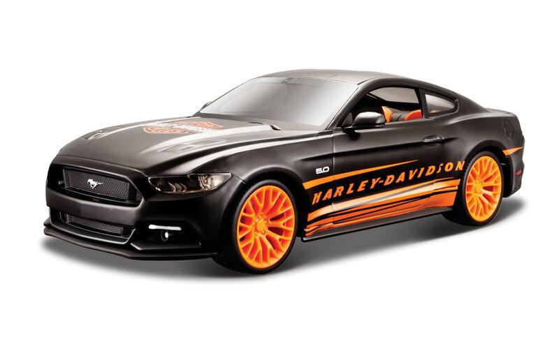 Mudelauto Maito Die Cast Ford Mustang GT 1:24, 31369 цена и информация | Poiste mänguasjad | kaup24.ee