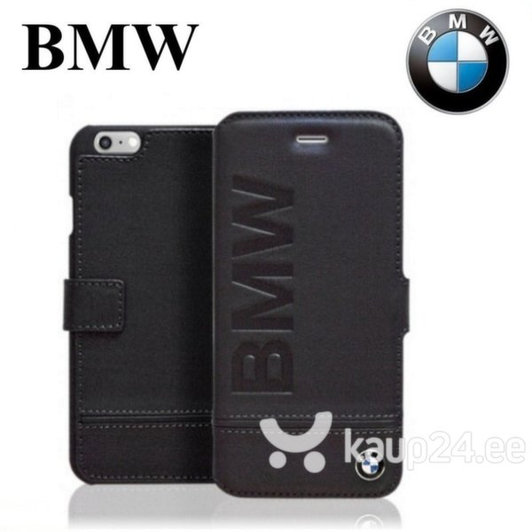 Kaitseümbris BMW Book sobib Apple iPhone 6/6S, must цена и информация | Mobiili ümbrised, kaaned | kaup24.ee