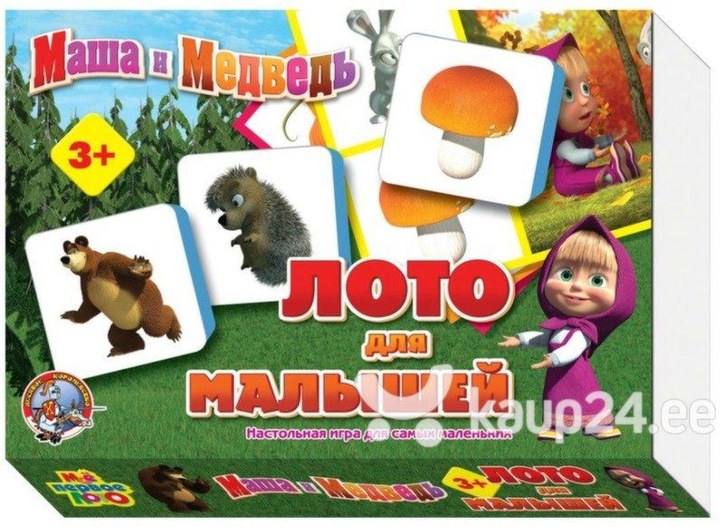 Lotomäng Maša ja Karu Laste Loto цена и информация | Arendavad mänguasjad 3+ | kaup24.ee