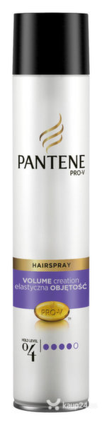 Sära andev juukselakk Pantene Volume Creation Extra Hold 250ml цена и информация | Viimistlusvahendid juustele | kaup24.ee