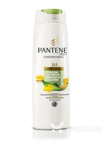 Sära andev šampoon Pantene Nature Fusion 400 ml цена и информация | Šampoonid | kaup24.ee
