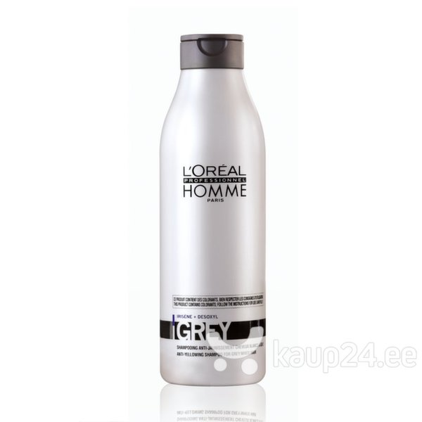 Meeste šampoon L'Oreal Professionnel Paris Homme Grey цена и информация | Šampoonid | kaup24.ee