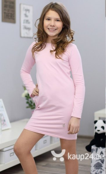 Tüdrukute kleit Kropek, roosa