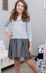 Tüdrukute kleit Kropek, hall/must II hind ja info | Tüdrukute riided | kaup24.ee