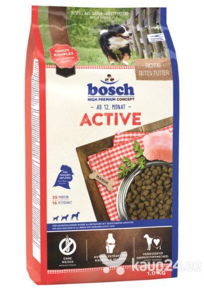 Kuivtoit koertele Bosch Active (High Premium) 1kg цена и информация | Kuivtoit koertele | kaup24.ee