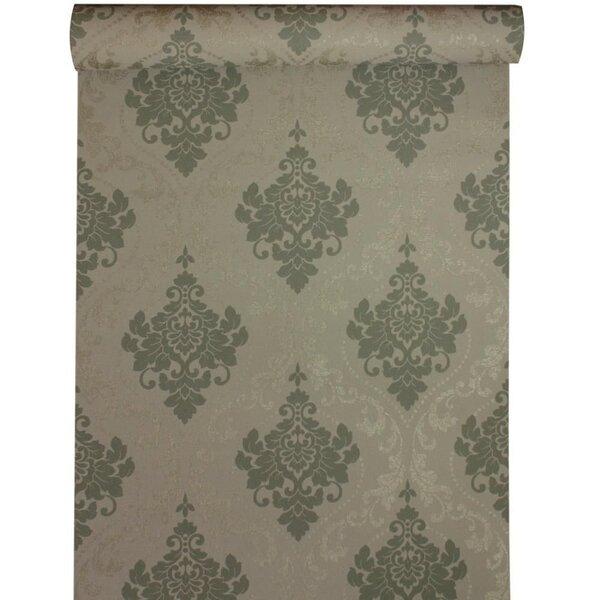 Tapeet ELEGANCE, pruunikas ornamentidega цена и информация | Tapeedid | kaup24.ee