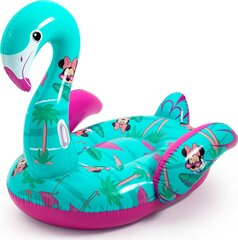 Надувной плот Bestway Big Flamingo Minnie Mouse, 173x170 см цена и информация   Надувной плот Bestway Big Flamingo Minnie Mouse, 173x170 см   kaup24.ee