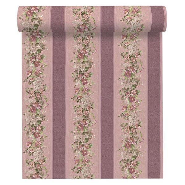 Tapeet VILLA, lillakas lilledega цена и информация | Tapeedid | kaup24.ee