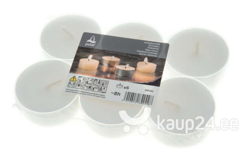 Teeküünlad, 6 tk цена и информация | Küünlad, küünlajalad | kaup24.ee