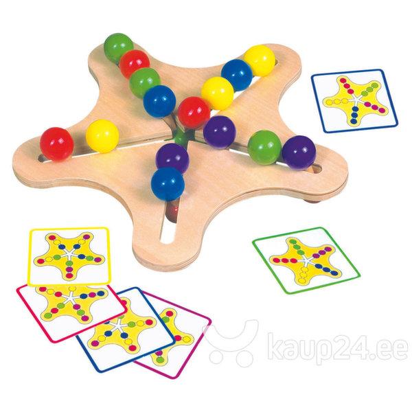 Arendav mänguasi Bino, täht цена и информация | Arendavad mänguasjad 3+ | kaup24.ee