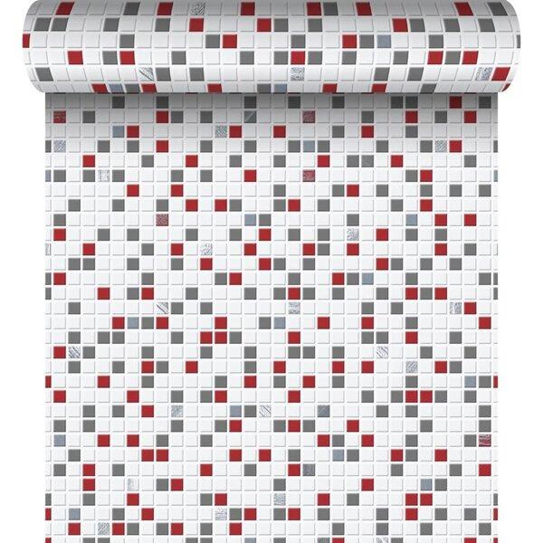 Tapeet CHECKER, mosaiik punasega цена и информация | Tapeedid | kaup24.ee