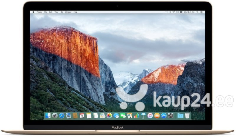 Apple MacBook 12 Retina (MLHE2ZE/A) EN цена и информация | Sülearvutid | kaup24.ee