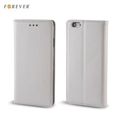 Kaitseümbris Forever Smart Magnetic Fix Book sobib Samsung Galaxy J3 (J320F), hõbedane