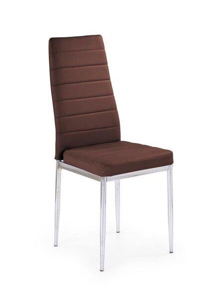 4 tooli komplekt K-70C, pruun цена и информация | Köögitoolid | kaup24.ee