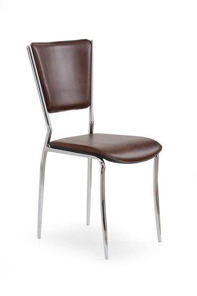 4 tooli komplekt K-72 C, tumepruun hind ja info | Köögitoolid | kaup24.ee