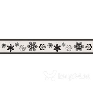 Dekoratiivne seinakleebis LOW, lilleline цена и информация | Seinakleebised | kaup24.ee