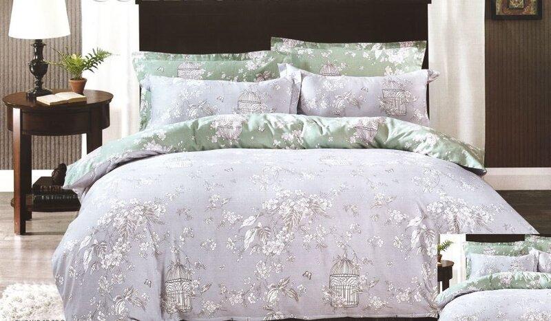 Kомплект постельного белья 4 части, хлопк цена и информация | Voodipesukomplektid | kaup24.ee