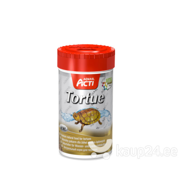 Kilpkonnade kuivtoit Aquael Acti Tortue, 1000 ml