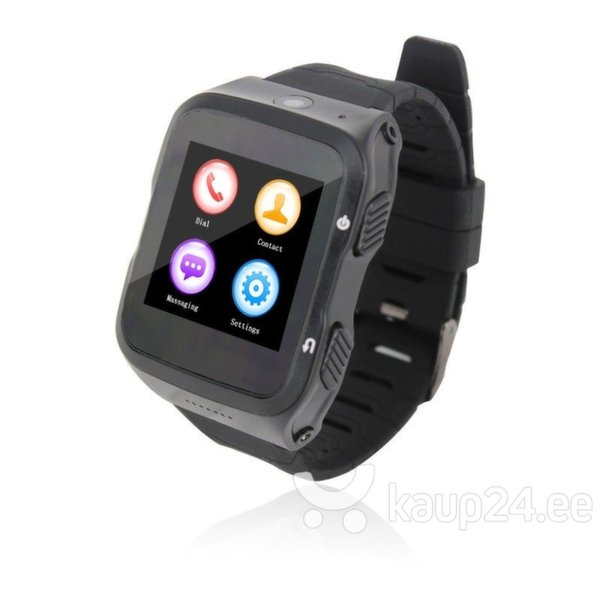 Nutikell ZGPAX S83 Android 5.1, must цена и информация | Nutikellad (Smart Watch) | kaup24.ee