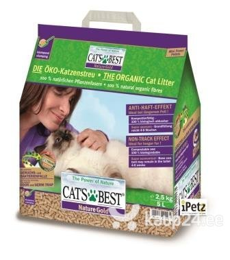 Kassiliiv Cat's Best Nature Gold, 5 L цена и информация | Kassiliiv | kaup24.ee