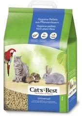 Наполнитель для кошачьего туалета CAT'S BEST UNIVERSAL, 20 л цена и информация | Наполнитель для кошачьего туалета CAT'S BEST UNIVERSAL, 20 л | kaup24.ee